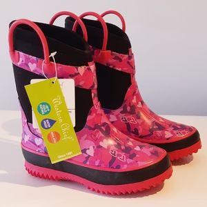 Heart Camo rain / winter boots